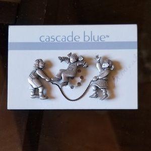 Jump rope children made by Cascade blue